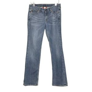 Lucky Brand Varsity Rider Denim Blue Jeans A150399